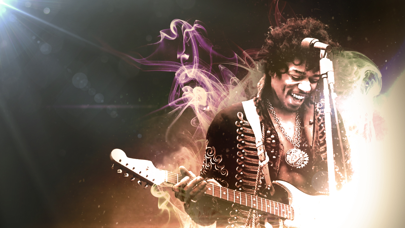 jimi hendrix wallpaper background by timsaunders d50udmq